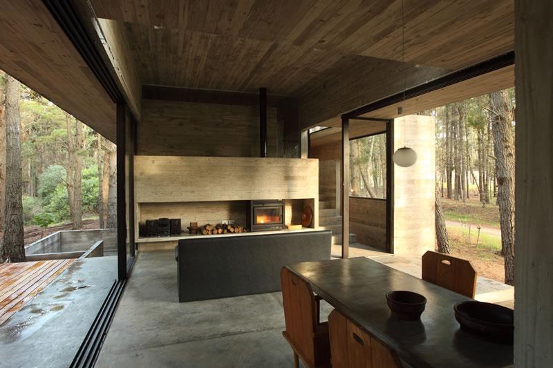 Casa cher mar azul argentina bak arquitectos for Casas modernas hormigon visto