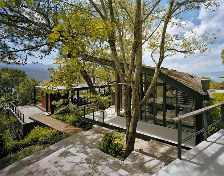 Noticias arquitectura arte dise o - Casas el bosque ...