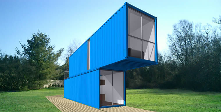 Noticias arquitectura arte dise o for Shipping container kit homes