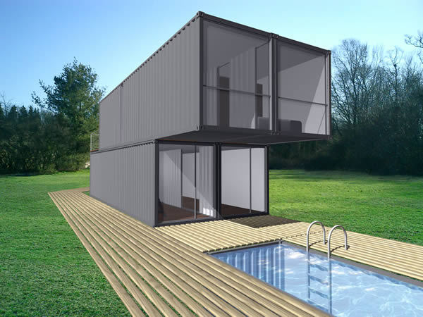CHK™ (CONTAINER HOME KIT), LOT-EK