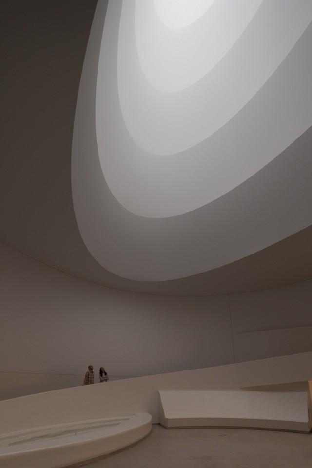 Exhibición: James Turrell en el Museo Guggenheim de Nueva York