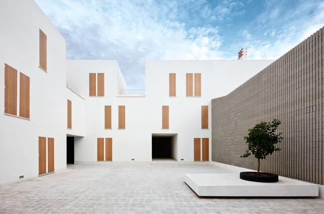 Espa a 19 viviendas sociales en sa pobla mallorca Noticias de arquitectura recientes