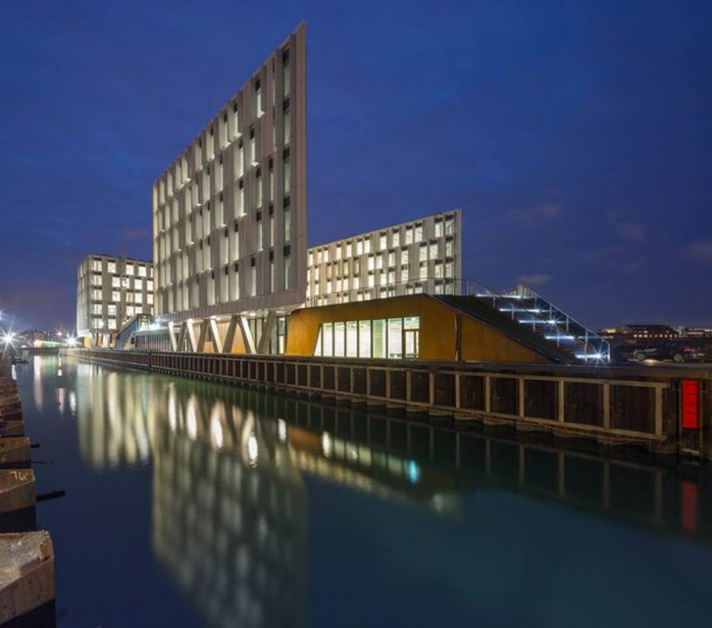Dinamarca: 'UN City', Copenhague - 3XN