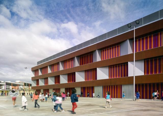 España: Centro de Educación Primaria Rosales del Canal, Zaragoza - Magén Arquitectos