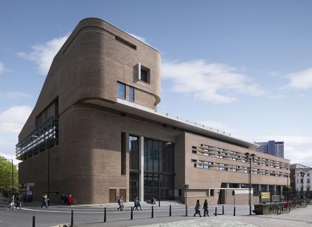 Inglaterra: 'Chetham's School of Music', Manchester - Stephenson: ISA Studio
