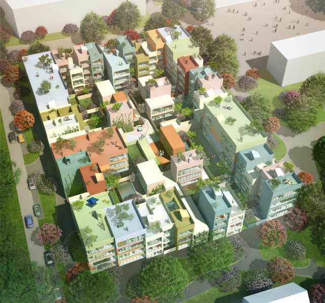 Suiza: 95 viviendas en Emmen - MVRDV