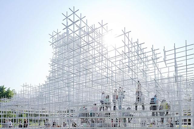 Londres: Serpentine Gallery Pavilion 2013 - Sou Fujimoto