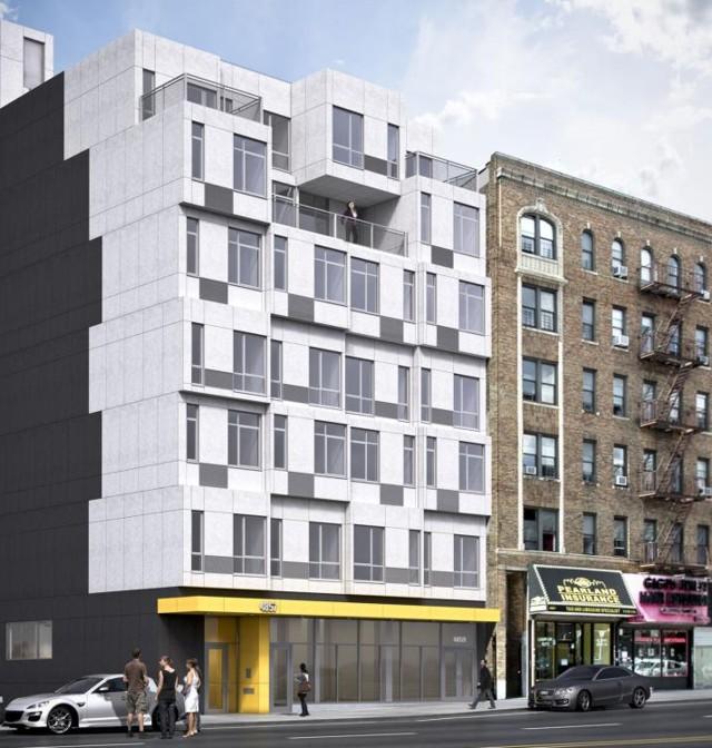 'The Stack', 28 viviendas prefabricadas en Nueva York - Gluck+