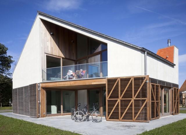 Bélgica: 'Summerhouse V at K', Ostende - Buro II & Archi+I