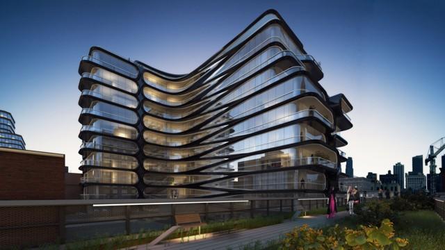 Un 'condominio boutique', la primera obra de Zaha Hadid en Nueva York