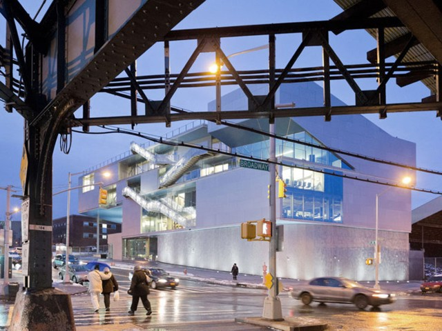 Centro Deportivo Campbell, Nueva York - Steven Holl Architects