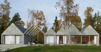 Suecia: Casa de Verano en Lågno - Tham & Videgård Arkitekter