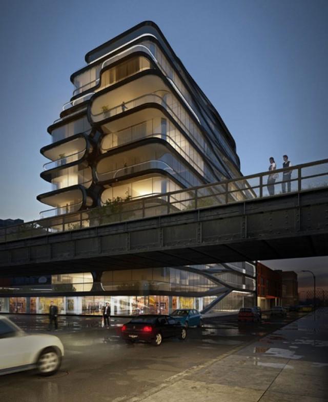Más imágenes del condominio diseñado por Zaha Hadid en Nueva York
