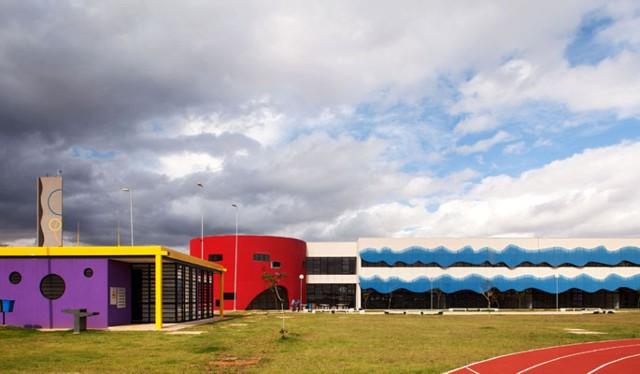 Brasil: Escuela de deportes Curt Walter Otto Baumgart, São Paulo - Ruy Ohtake Arquitetura e Urbanismo