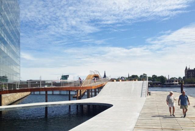 Dinamarca: 'Kalvebod Bølge', Copenhague - JDS / Julien De Smedt Architects