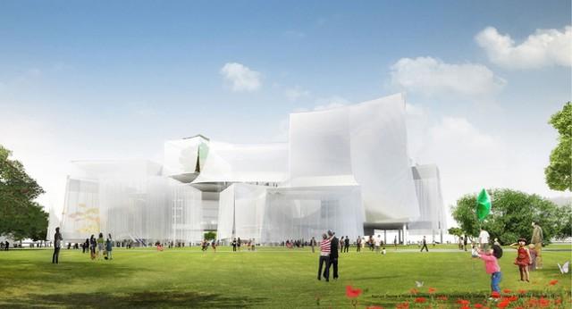 SANAA gana el concurso para el Taichung City Cultural Center en Taiwán