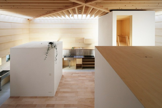 Japón: 'Light Walls House',  Toyokawa -  mA-style architects