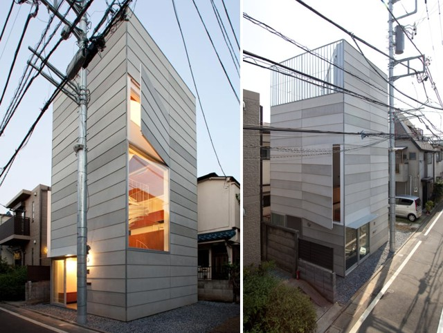 Jap n 39 small house 39 tokio unemori architects for Noticias de arquitectura recientes