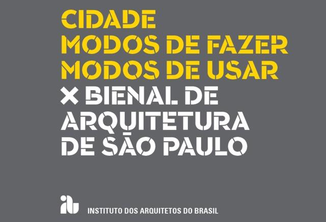 X Bienal de Arquitectura de São Paulo 2013