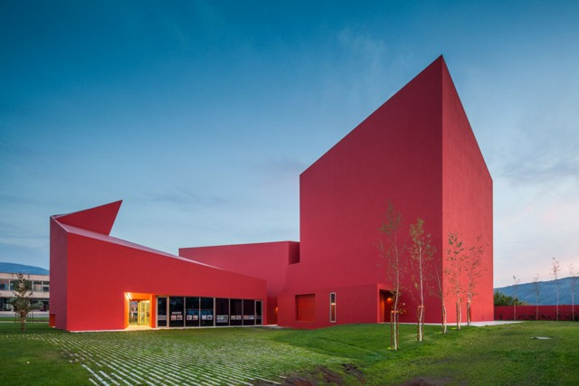 Portugal: Casa das Artes, Miranda do Corvo - Future Architecture Thinking