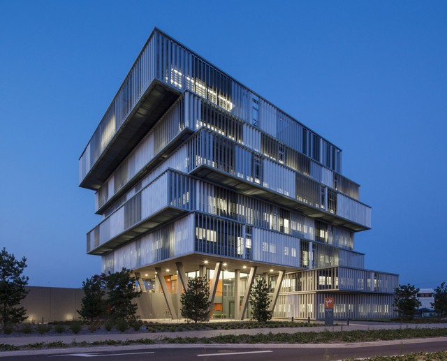 Francia: Oficinas para Aquitanis en Burdeos - Platform Architectures + Reichen & Robert & Associés