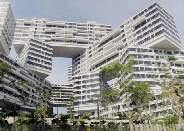 Singapur: 'The Interlace' - OMA y Ole Scheeren