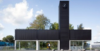 Holanda: Barneveld Noord Station - NL Architects