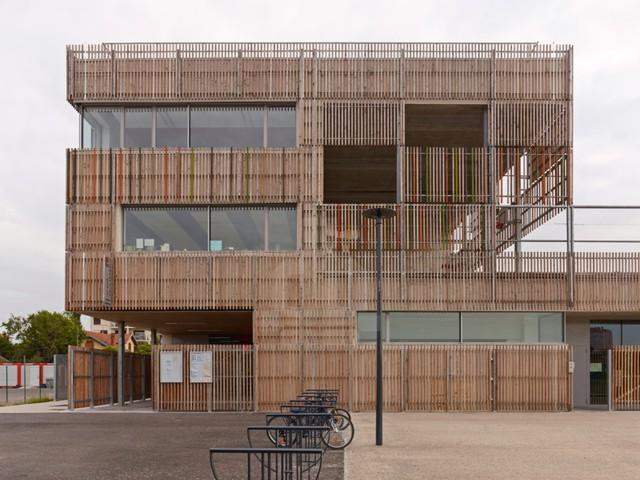 Francia: 'Groupe Scolaire Lucie Aubrac', Toulouse - laurens & loustau architectes