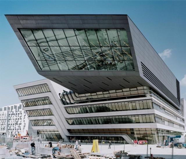 Austria: 'Library & Learning Center', Viena - Zaha Hadid