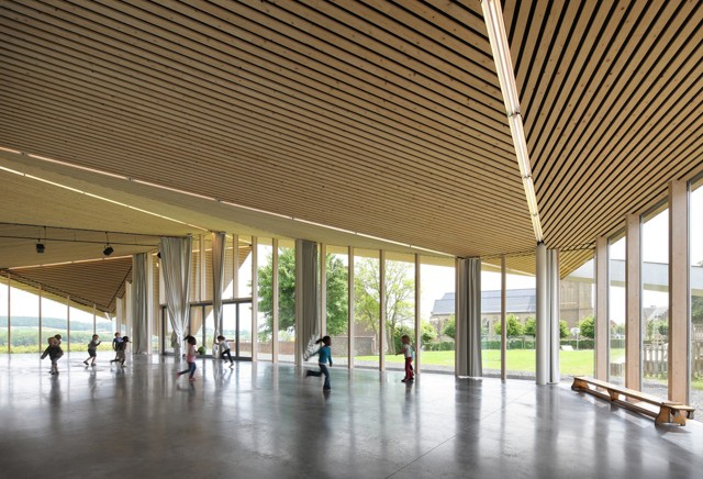 Bélgica: Centro Comunitario - Marc Koehler Architects