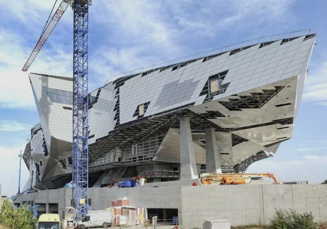 Francia mus e des confluences lyon coop himmelb l au - Arquitectura lyon ...