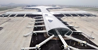 China: Ampliación del 'Bao'an International Airport', Shenzhen - Studio Fuksas