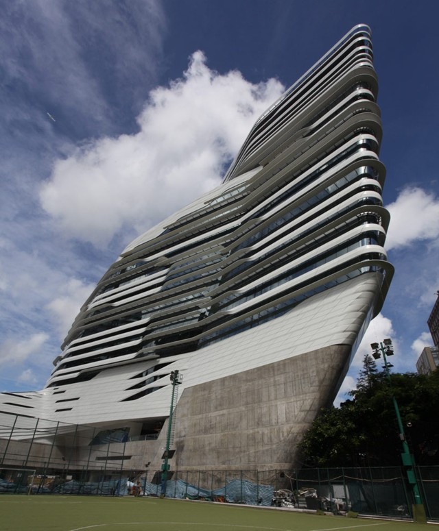'Innovation Tower', Universidad Politécnica de Hong Kong - Zaha Hadid Architects