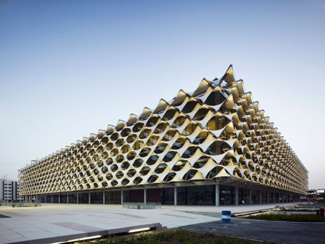 Arabia Saudita: Ampliación de la Biblioteca Nacional Rey Fahd, Riad - Gerber Architekten