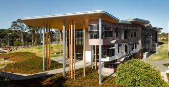 Australia: 'Abedian School of Architecture', Gold Coast, Queensland - Crab Studio