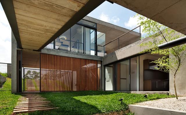 Brasil: 'Residencia Itahye', Sao Paulo - apiacas arquitetos