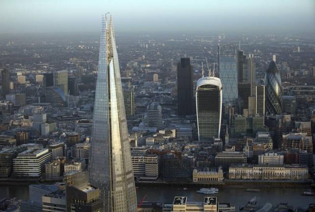 Londres: The Shard, una ciudad vertical sin habitantes