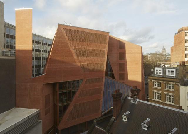 Inglaterra: Centro de estudiantes en la 'London School of Economics' - O'Donnell + Tuomey
