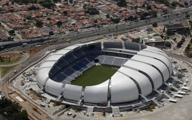 Brasil 2014: 'Arena das Dunas', Natal - Populous