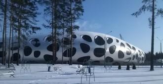 Video: Estadio de fútbol 'FC BATE Borisov', Bielorrusia:  - OFIS Arhitekti