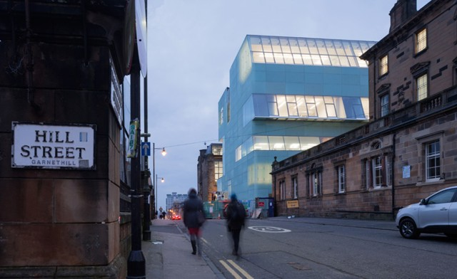 'Reid Building', Glasgow School of Art - Steven Holl Architects
