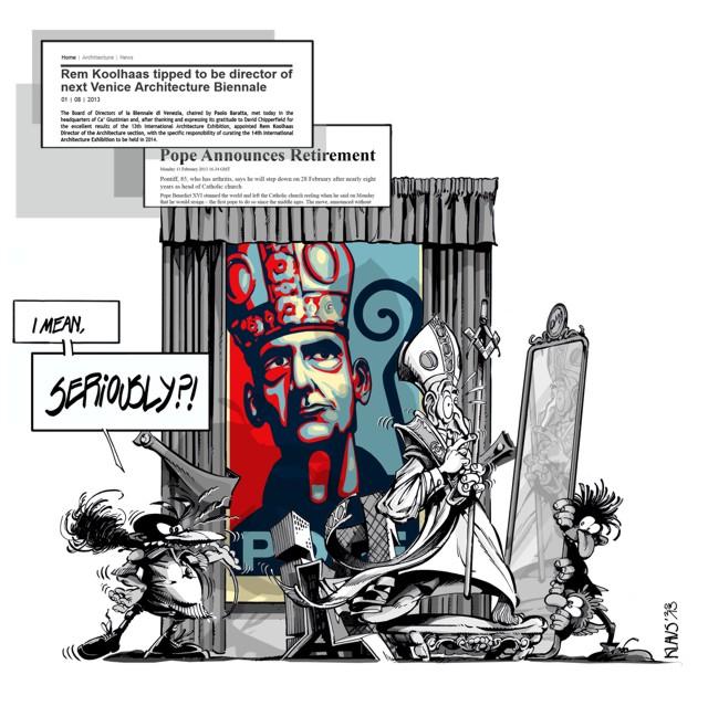 Satirizar la arquitectura. Entrevista a Klaus por Fredy Massad