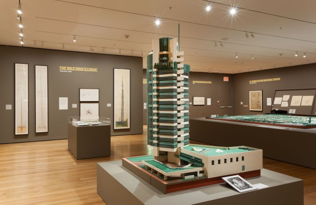 Exhibición: 'Frank Lloyd Wright and the City: Density vs. Dispersal' en el MoMA
