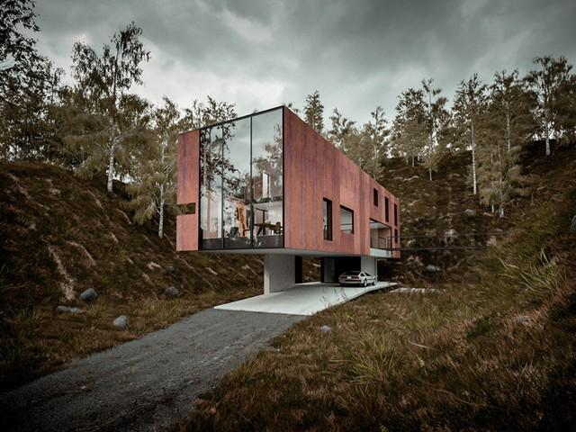 'Casa para un fotógrafo', Gales - Hyde + Hyde Architects