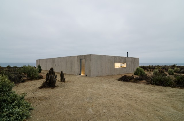 Chile casa en huentelauqu n plan com n y claudio baladr n for Noticias de arquitectura recientes