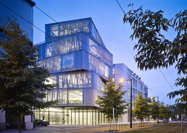 Francia Escuela De Arquitectura De Estrasburgo Marc