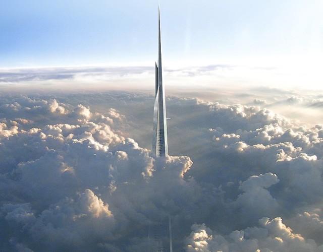 Arabia Saudita: Kingdom Tower, el rascacielos más alto del mundo. Un kilómetro de altura