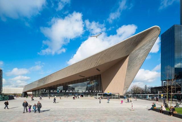 Holanda: Nueva estación 'Rotterdam Centraal' - Team CS