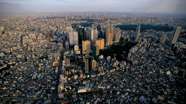 Megaciudades en un planeta que se urbaniza