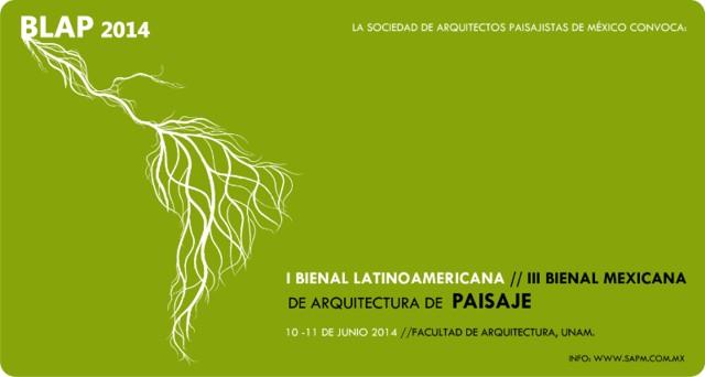 I Bienal Latinoamericana de Arquitectura de Paisaje 2014